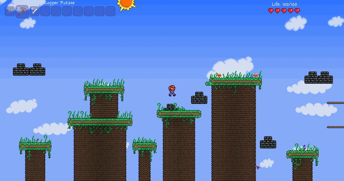 Карта Super Mario