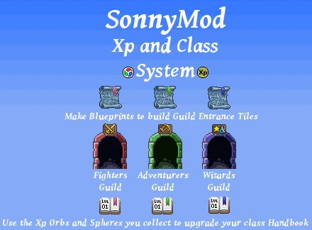Мод Sonny Modpack