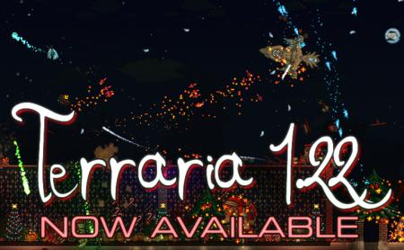 В Steam вышла Terraria 1.2.2